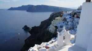 Greek village in Cycladic Islands