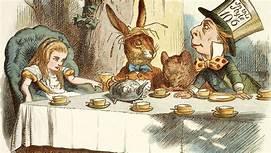 The strange tea party