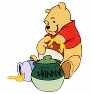 Pooh with honey jars