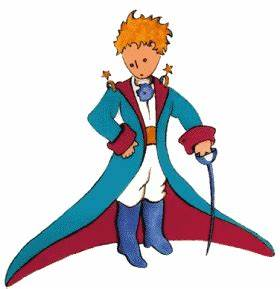 The Little Prince in full regalia