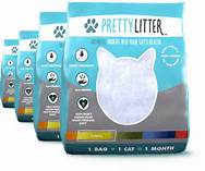 3 bags of PrettyLitter