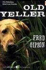 Picture of dog on Old Yeller book cover