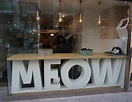 store front: meow