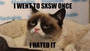 Grumpy cat: SXSW
