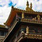 corner of elaborate temple