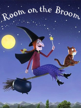 Book cover: Room on the Broom