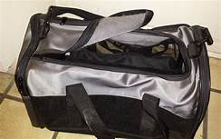 soft-sided cat carrier with handles