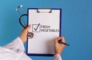 "clipboard saying ""fresh vegetables"""