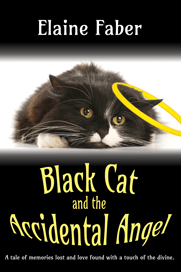 Book cover: Black Cat and the Accidental Angel