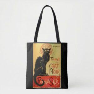 Le Chat Noir black cat tote