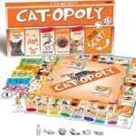 cat-opoly game board