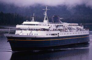 Matanuska ferry at sea