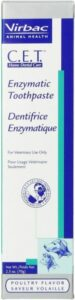 Enzymatic toothpaste for dogs & cats