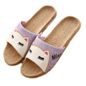 Cat-theme sandals