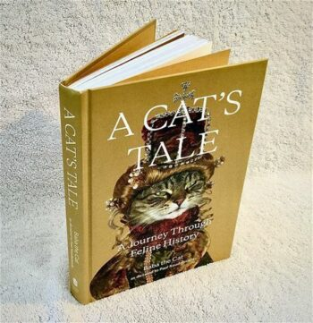 """Picture of book, """"A Cat's Tale"""""""